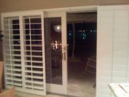 Plantation Shutters Sliding Patio Door Sliding Shutter Doors Throughout Beautiful Patio Door