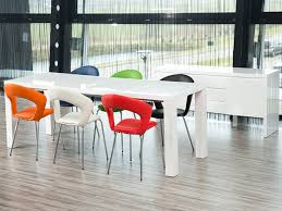 frances white high gloss extending dining table home ideas design