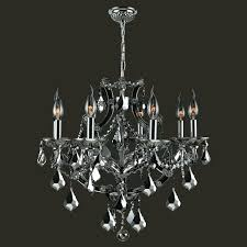 Chrome Crystal Chandelier by Lyre 8 Light Crystal Chandelier Products