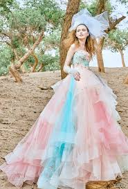 multi color wedding dress tiglily 2018 wedding dresses wedding inspirasi