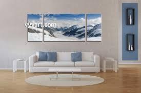 3 piece landscape snow white multi panel canvas living room art 3 piece canvas wall art snow photo canvas landscape artwork