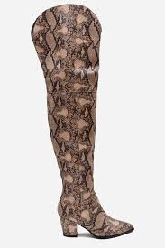 s knee boots uk tesha snake print the knee boots the knee boots footwear