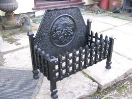secondhand vintage and reclaimed miscellany cast iron fire