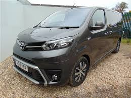 toyota proace verso used 2017 toyota proace verso 2 0d 180 family medium 5dr auto