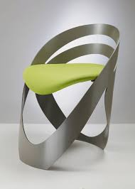 Aluminium Modern And Contemporary Chair In Original Design - Modern chair designers