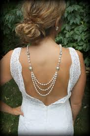 etsy necklace pearl images Backdrop necklace pearl necklace back drop necklace bridal etsy jpg
