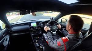 lexus rcf cars com ipswich lap lexus rc f safety car youtube