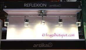 Costco Led Light Fixture Remarkable Bathroom Costco Sale Artika Reflexion 5 Light Led Track
