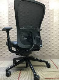 Zody Task Chair Cubes2u Haworth Zody Task Chair Black Leather Seat