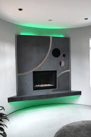 led lights fireplace contemporary green for mantel thesrch info