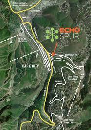 Park City Utah Map by Echo Spur Park City Utah About Echo Spur