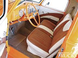 Custom Classic Mini Interior 1949 Chevrolet Truck Rod Network