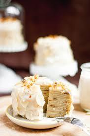cuisine sans lactose layer crêpe cake façon frangipane sans gluten végétarien sans