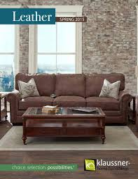 Klaussner Audrina Leather 2015 Catalog By Klaussner Home Furnishings Issuu
