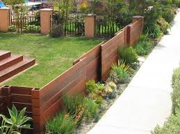 Small Garden Fence Ideas Fencing Ideas For Small Gardens