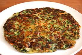Pancake Flour Vegetable Pancake Yachaejeon Recipe Maangchi Com
