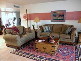 Southwestern Living Room Furniture Southwestern Hacienda Style Townhouse Southwestern Living Room