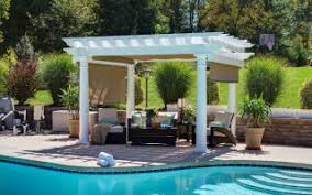 White Vinyl Pergola Kits by Vinyl Pergola Kits For Sale American Landscape Structures