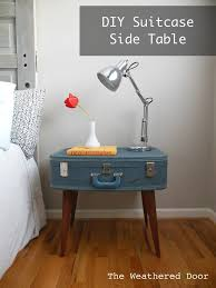 Diy Side Table 33 Simply Brilliant Cheap Diy Nightstand Ideas Homesthetics