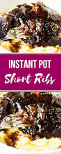 how to make instant pot short ribs and the kitchen
