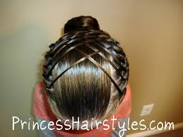 gymnastics picture hair style i wanna do my hair like this for my next meet anyone know how to