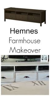 hemnes tv bench farmhouse hemnes makeover seeking lavendar lane