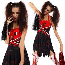 cheerleader halloween costumes ladies zombie cheerleader costume halloween carnival christmas