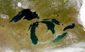 Map Of The United States Great Lakes by Citizen Scientists Track Algal Blooms