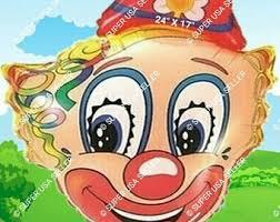 clown balloon clown balloons etsy