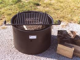 Fire Pit Ring With Grill by Park Grills Fire Rings Commercial Barbecue Grills