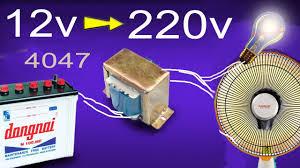 how to make inverter 12v to 220v simple circuit diagram youtube