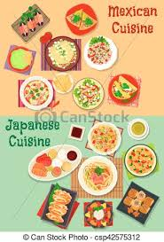 cuisine dinner and japanese cuisine dinner icon and vector clip