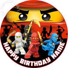 ninjago cake toppers lego custom birthday cake parts 40048 cake topper