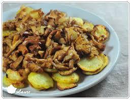 cuisine girolles poêlée d automne girolles et pommes de terre