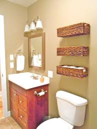 medicine cabinet with wicker baskets these 3 baskets are nailed to the wall right through the wicker
