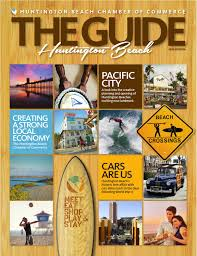 huntington beach the guide 2016 by chamber marketing partners inc