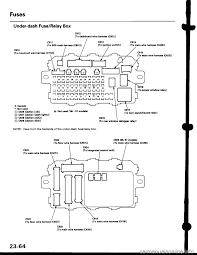 fuses honda civic 2000 6 g workshop manual