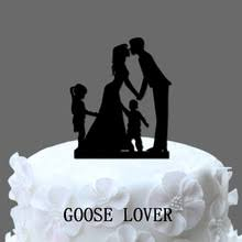 popular family wedding cake topper buy cheap family wedding cake