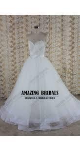 hem wedding dress neckline lace tulle wedding dress wedding gown