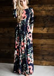 floral dresses navy classic maxi ootd maxi dresses and