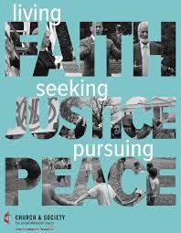 Seeking Poster Faith Seeking Justice Pursuing Peace Poster
