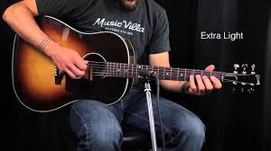 the ultimate acoustic string comparison light vs custom