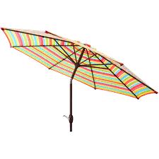 Orange Patio Umbrella by Better Homes And Gardens 6 U0027 X 10 U0027 Rectangular Umbrella Orange