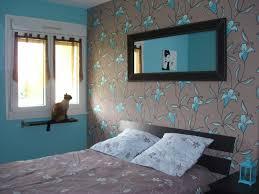 chambre et turquoise décoration chambre turquoise chocolat