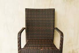 Faux Wicker Patio Sets How To Fix Faux Wicker Patio Furniture Home Guides Sf Gate