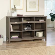 Sauder Bookcase by Sauder Adept Storage Credenza Fossil Oak Finish Walmart Com