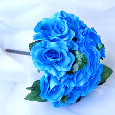 flowers free shipping 4 pcs velvet artificial roses wedding bouquets bridal flowers