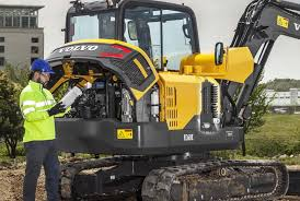 volvo ce intros ec60e excavator for big and small jobs alike with