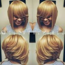 Sew In Bob Hairstyle Layered Bob Sew In Hair Pinterest Layered Bobs Bobs And