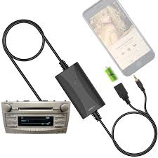 amazon com new generation car stereo aux input adapter